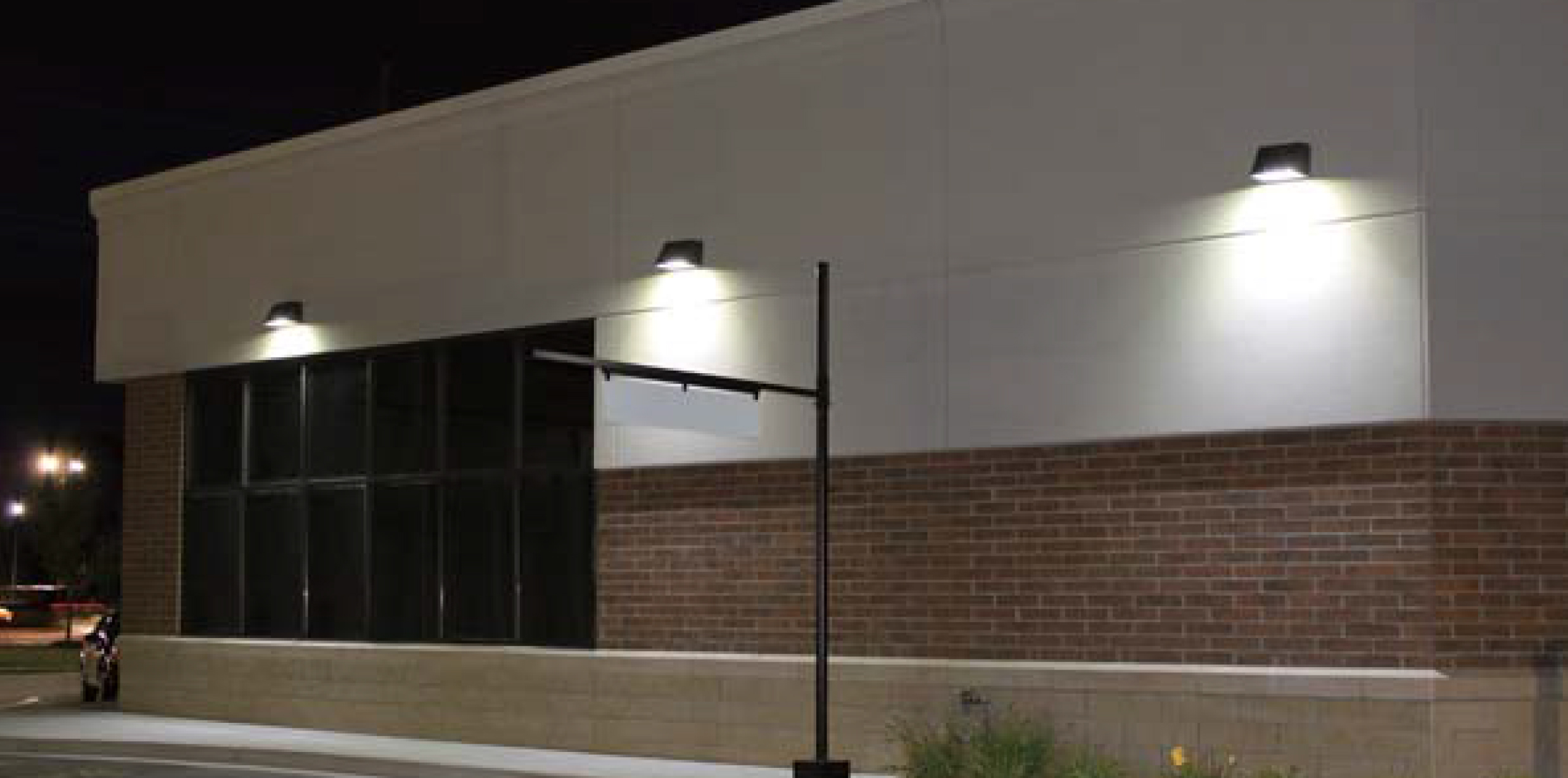 Talon full cutoff led wall pack louvers international - Consider led wall pack lighting home ...