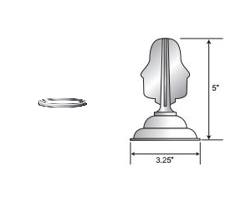 Neck Fitter and Finial